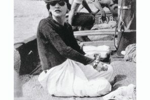 Mademoiselle Chanel a le pied marin.