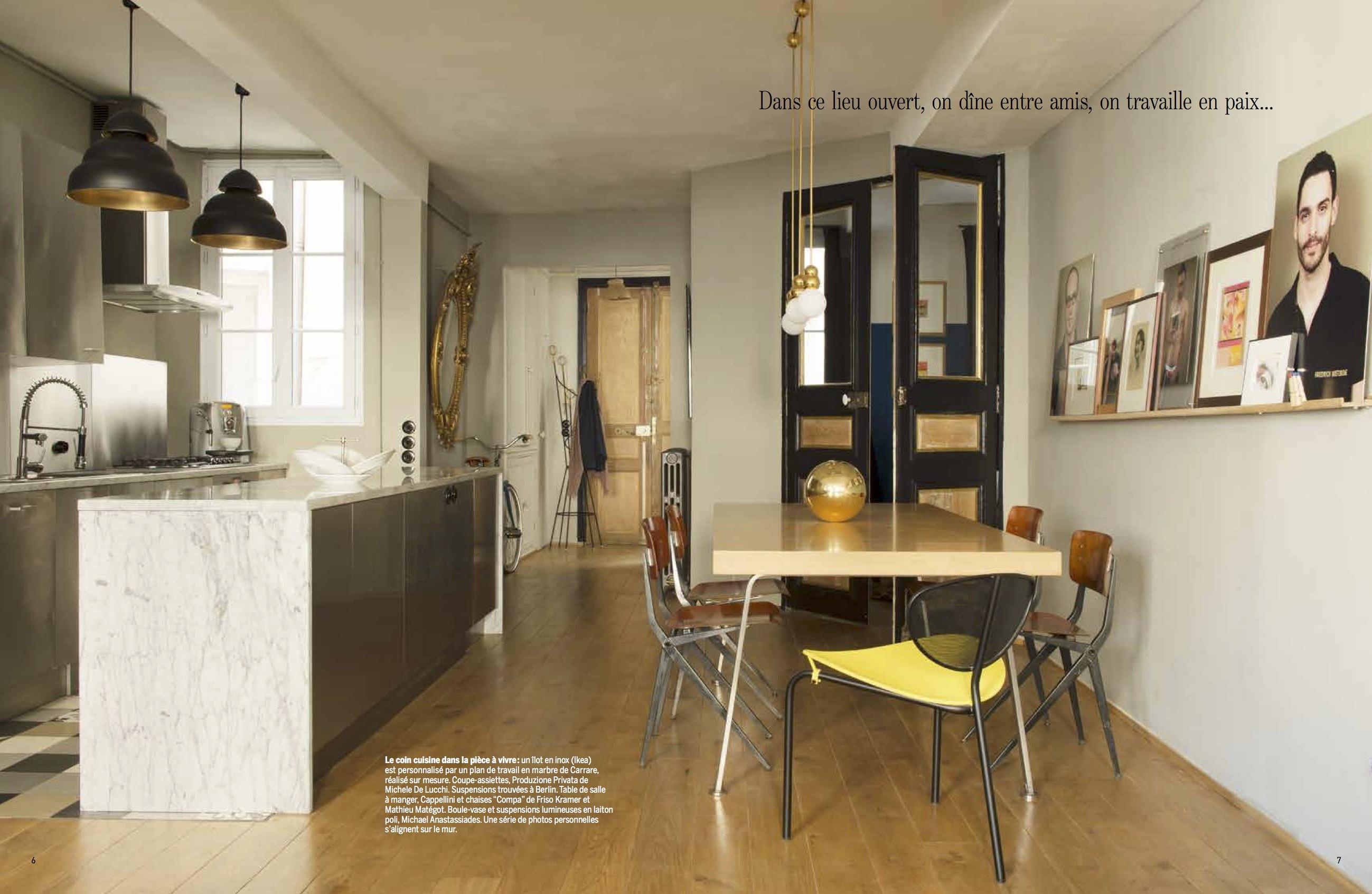 beautiful marie claire maison cuisine ouverte pictures. Black Bedroom Furniture Sets. Home Design Ideas