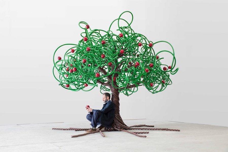 Apple Tree par Barnaby Barford David Gill Gallery