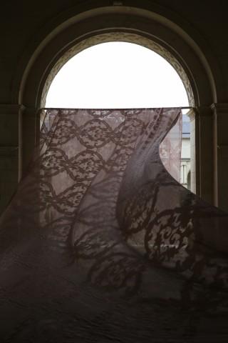 """""""Arabesque"""" lin et coton polyester Créations Métaphores"""