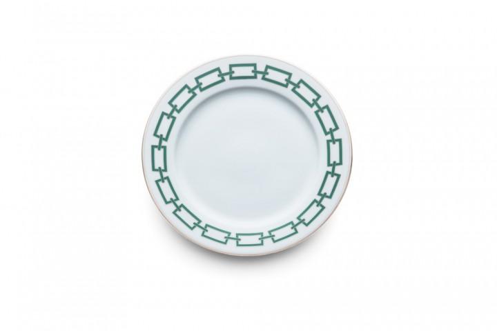 "Assiette en porcelaine collection ""Catene"", Richard Ginori"