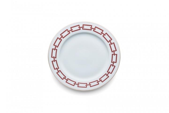"Assiette en porcelaine collection"" Catene"", Richard Ginori"