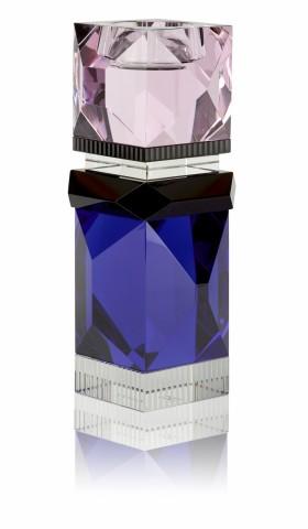 Bougeoirs empilables Ophélia en cristal création Julie Hugau et Andrea Larsson, Reflections