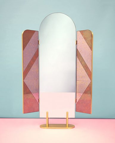 "Miroir ""The Happy Room"" Cristina Celestino pour Fendi"