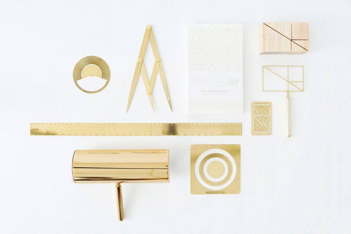 """Ensemble d'outils de dessin """"Divine"""" carnet de croquis, règle, compas...création Olivia Lee"""