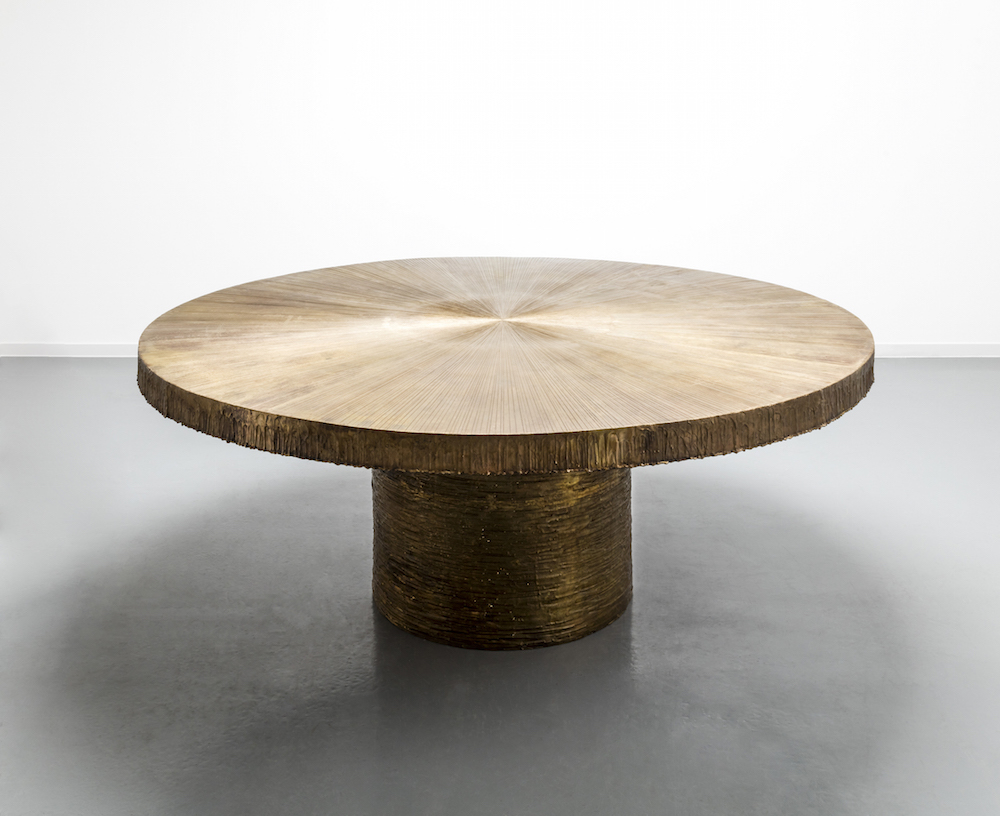 Galerie David Gill Table Radiant en bronze de Michele Oka Doner, Courtesy of David Gill