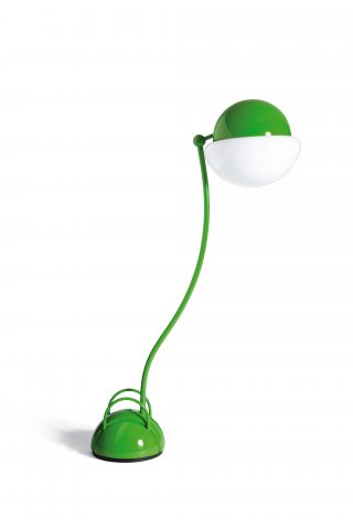Lampadaire Lume orientable Locussolus design Gae Aulenti Exteta