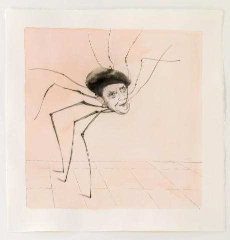 Louise Bourgeois (maman) Encre sur papier