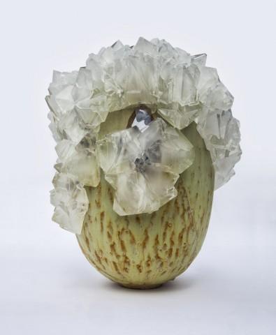 Sculpture Lukas Wegwerth crystallization, Gallery Fumi