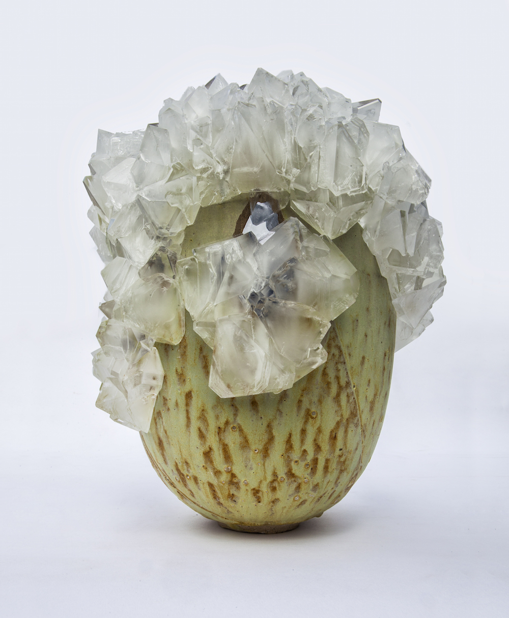 Sculpture Lukas Wegwerth crystallization, Gallery Fumi