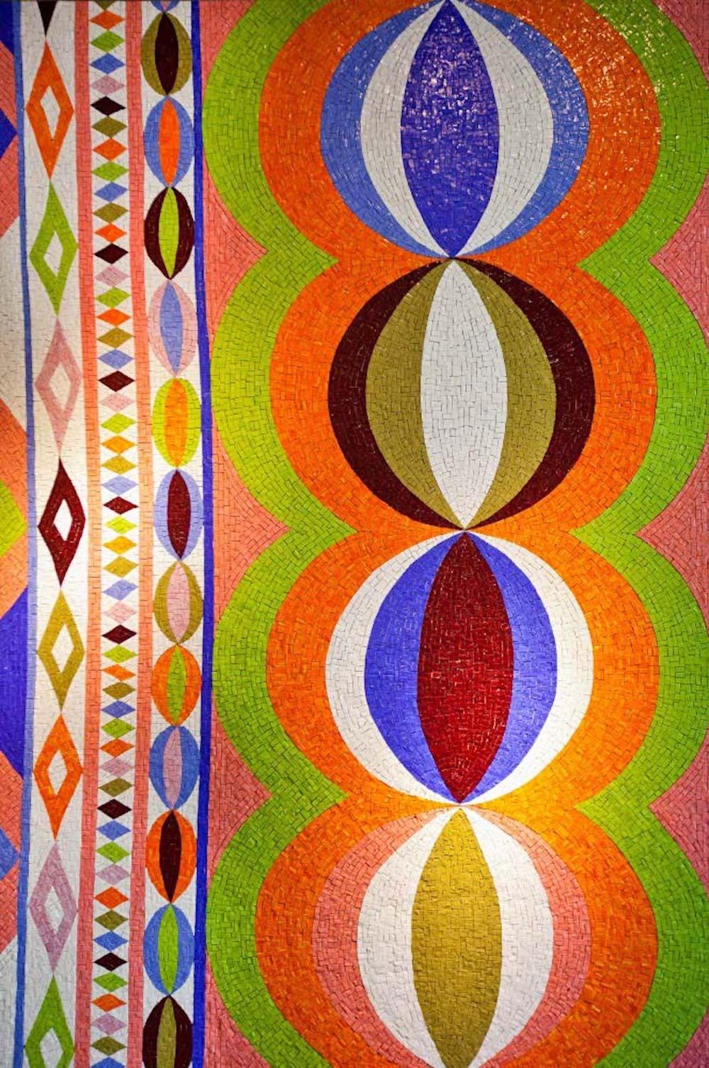 Mosaïques Edition limitée Collane design Emilio Pucci Bisazza