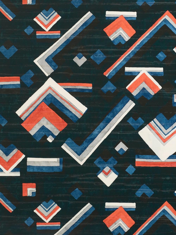 Papier peint Concorde vinyle sur un textile non-tissé, ignifugé, lavable et épongeble, Dedar