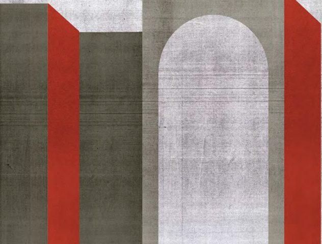 """Papier peint """"Stanza Metafisica"""", lavable en fibre de verre, vinyle en tissu non tissé création Servomuto , Texturae"""