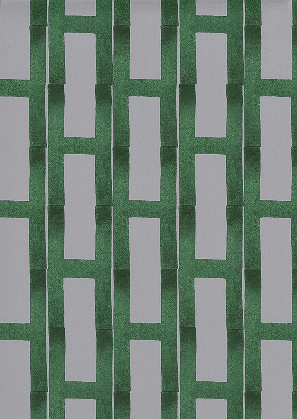 Papier peint Briques ArtOfCol© Hermès