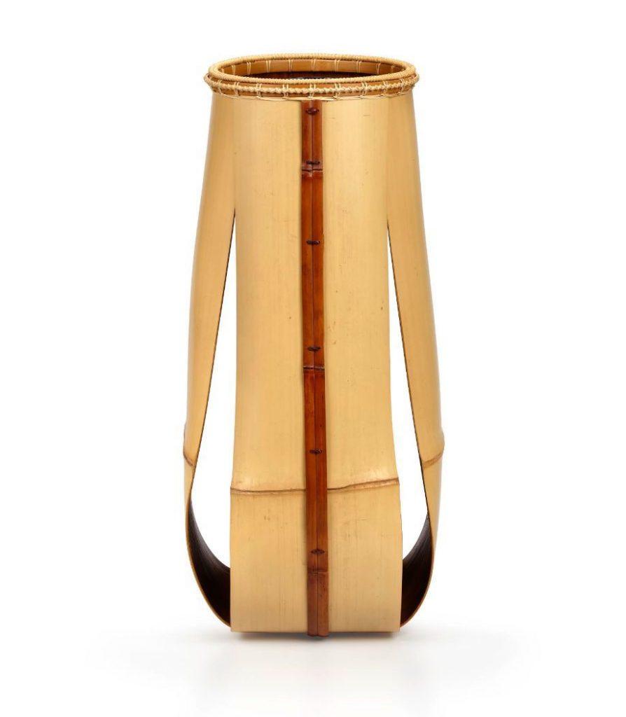 Rin en bambou Matsumoto Hafū Galerie Mingei copie