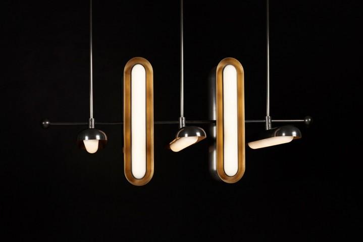 Suspension lampe Circuit design Apparatus, Galerie Triode