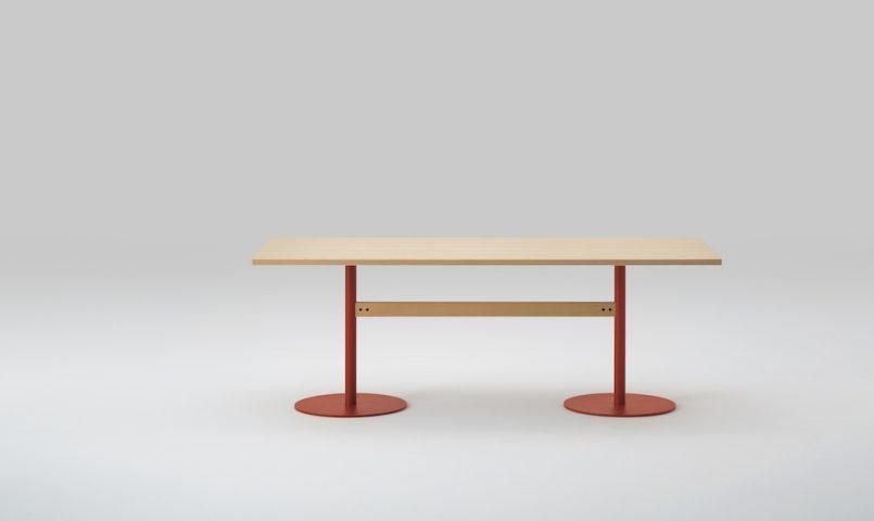 Table T&O 240 design Jasper Morrison pour Maruni