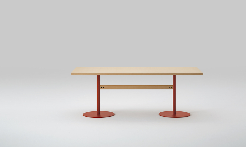 Table T&O 240 design Jasper Morrison pour Maruni