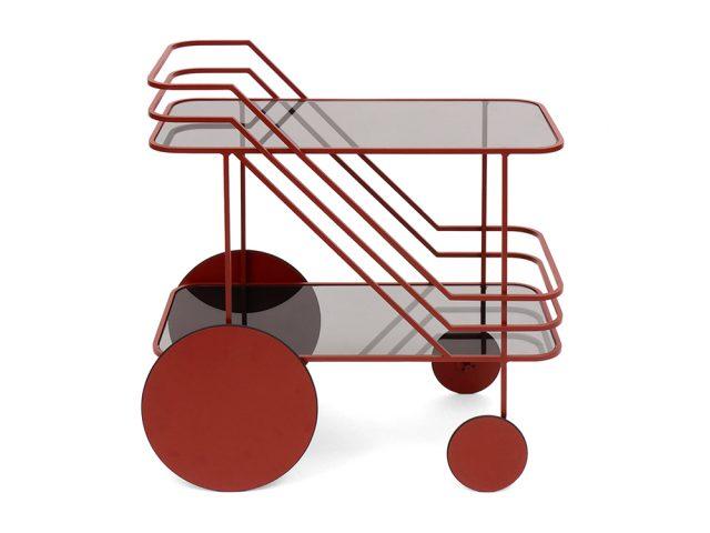 """Table roulante """"Come As You Are"""" design Christophe de la Fontaine Dante"""