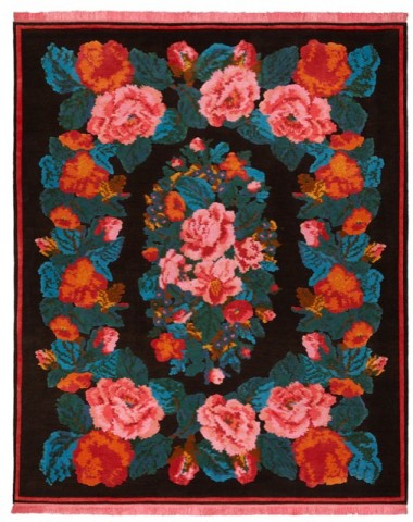 "Tapis en laine et soie ""collection from Russia with love"", Jan Kath"