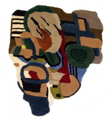 Tapis en laine, création  Jonathan Josefsson