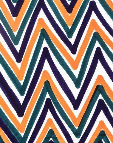 Tissu coton coloris ZICA 616 Livio de Simone