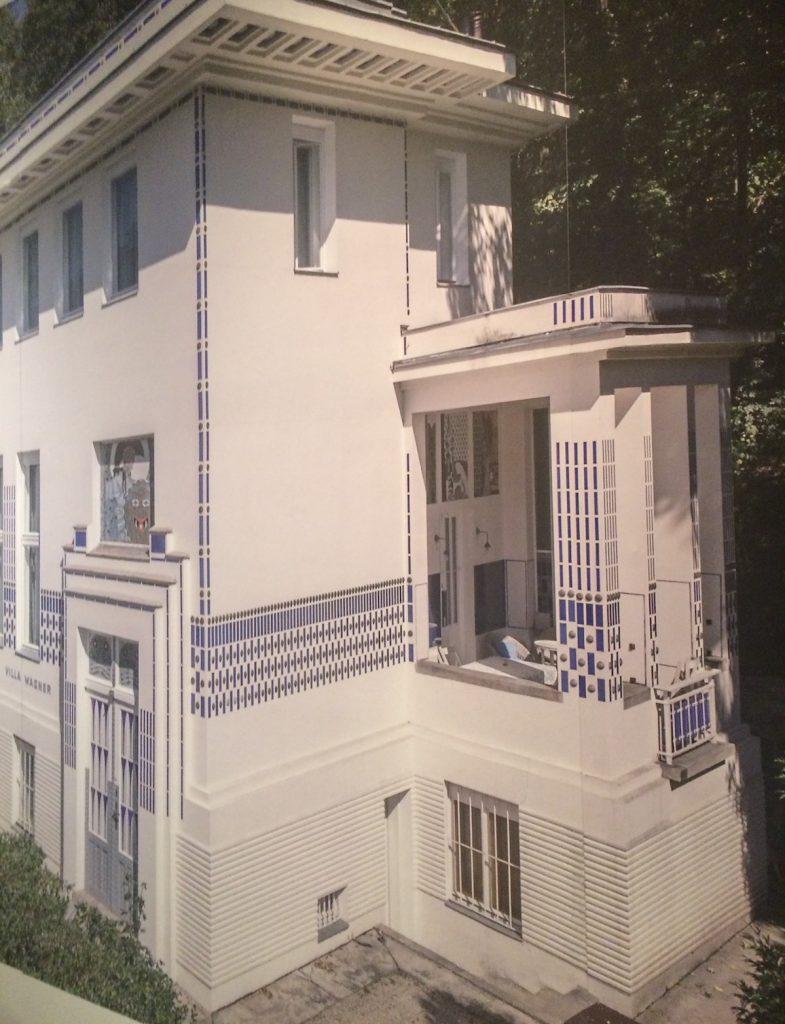 Villa Wagner chez Otto Wagener architecte