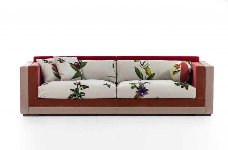 Canapé Ikebana design Edward Van Vliet Moroso